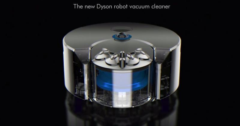 Dyson 360 Eye robot vacuum cleaner sees all