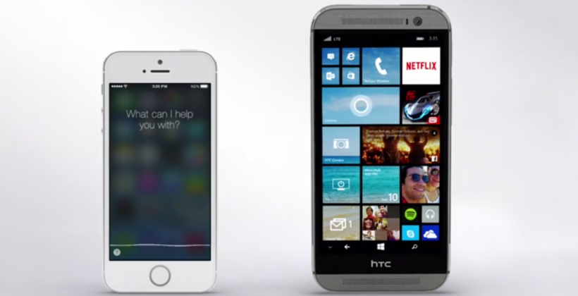 "HTC One calls out Siri and iPhone speaker: ""I'm sitting on it"""