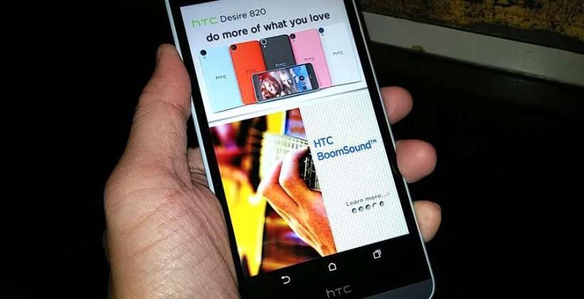 HTC Desire 820 hands-on