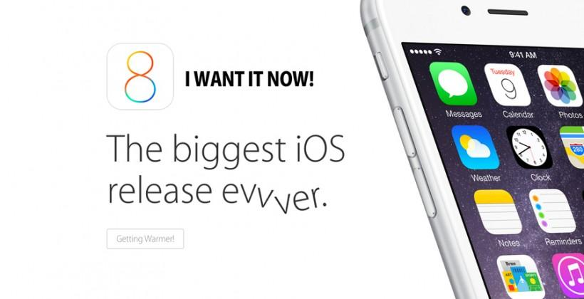 iOS 8: how to download, when to expect