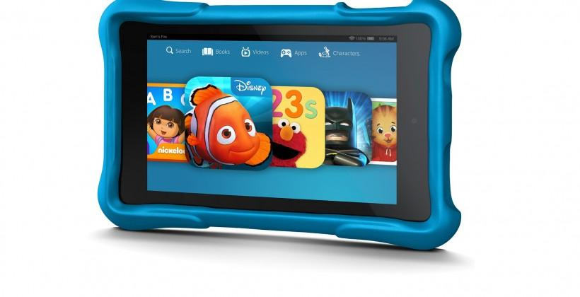 Amazon's Fire HD Kids Edition: rubber bumpers, free replacements