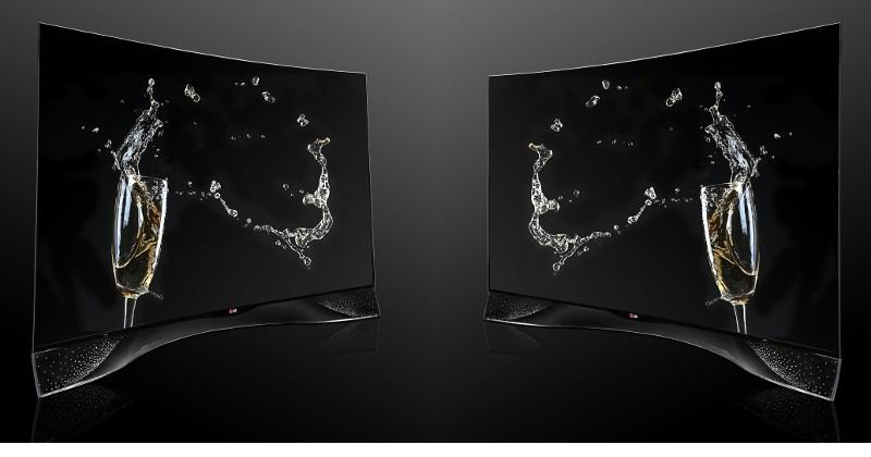 LG Curved OLED TV gets a dash of Swarovski flair