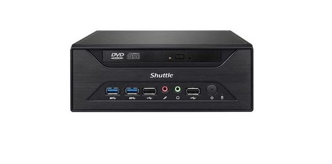 Shuttle XH81 and XH81V mini PCs include optical drive support