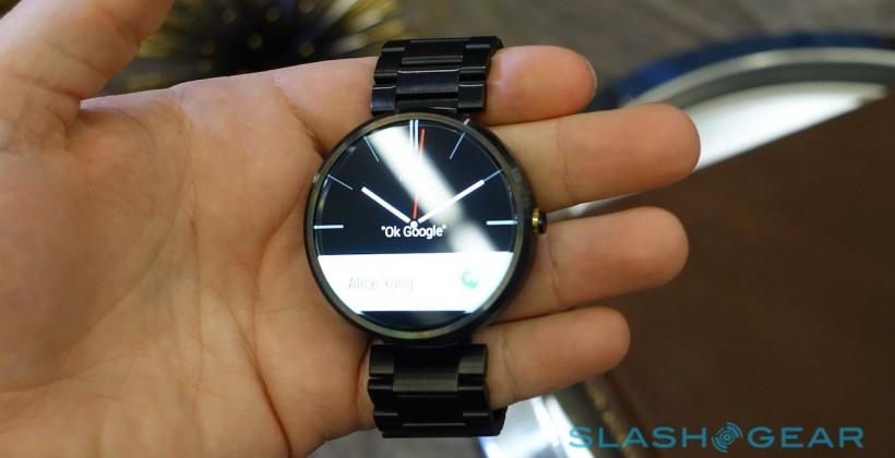 You can buy the Moto 360 today: We go hands-on