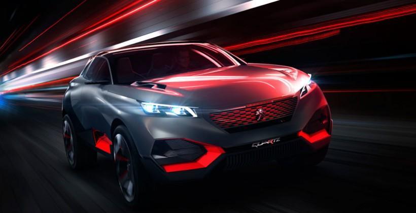 Peugeot Quartz concept boasts innovative cabin materials