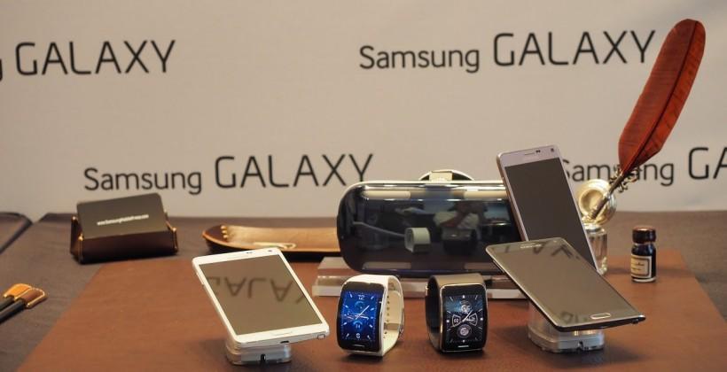 Samsung IFA 2014 Round-up