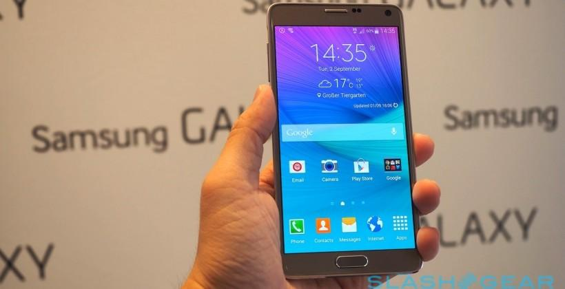 Samsung Galaxy Note 4 hands-on: Quad HD and metal