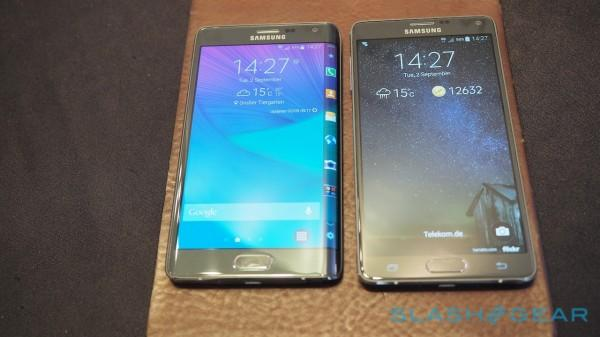 Note Edge vs Note 4