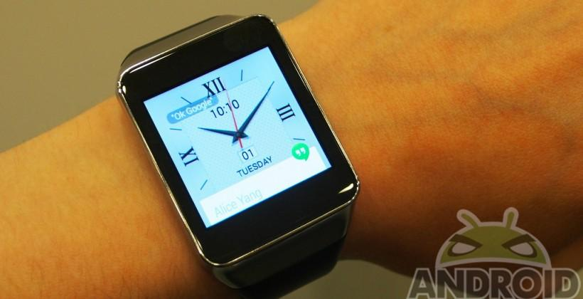 Next Samsung smartwatch: fingerprint sensor, mobile payment