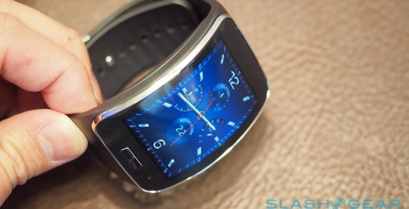 Samsung Gear S hands-on: Wildly wireless wearable