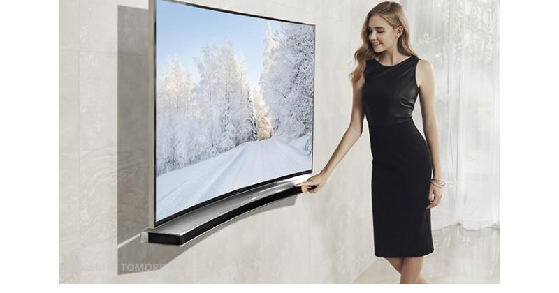 Samsung unveils Curved Soundbar to go with your Curved TV
