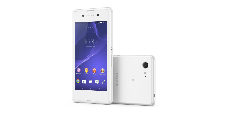 Xperia E3: a Sony experience without the price tag