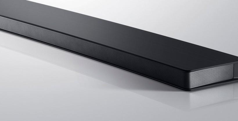 Samsung speakers round out your home theater ecosystem
