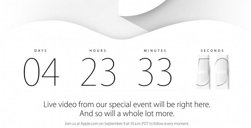 Apple iPhone 6/iWatch event livestream, liveblog, device details