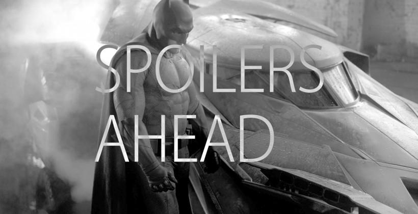 Batman V Superman Batmobile revealed, and it's awesome [UPDATE: Official]