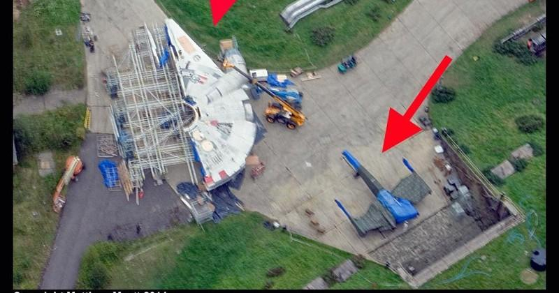 "Star Wars set leaked by drone, studio buys ""DroneShield"""