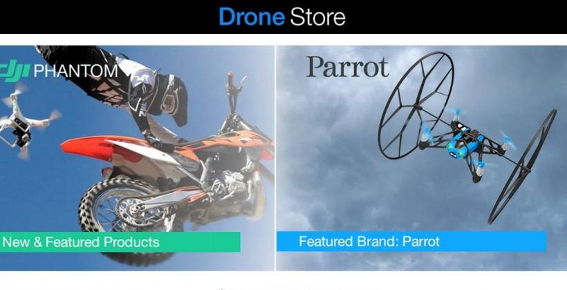 Amazon Drone Store: a new section dedicated to UAVs