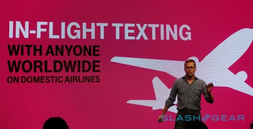 T-Mobile announces free WiFi texting on a plane