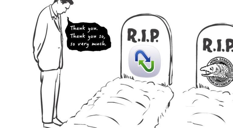 RIP Nokia Sync