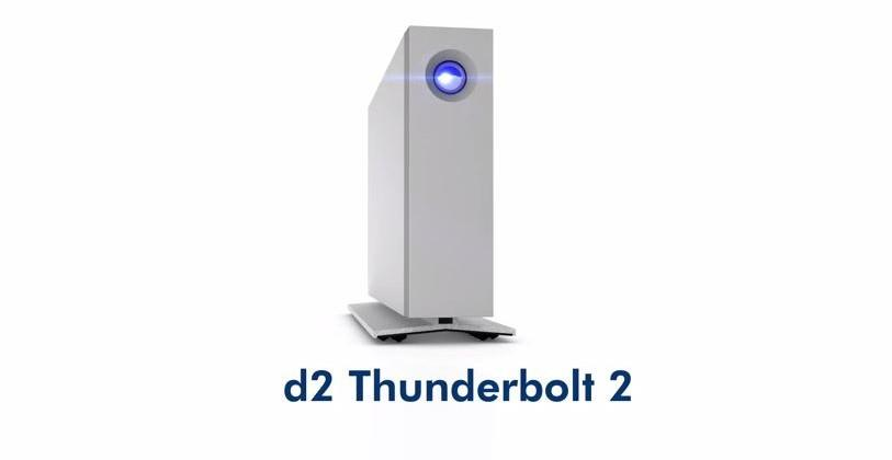 LaCie d2 Thunderbolt 2 includes SSD upgrade