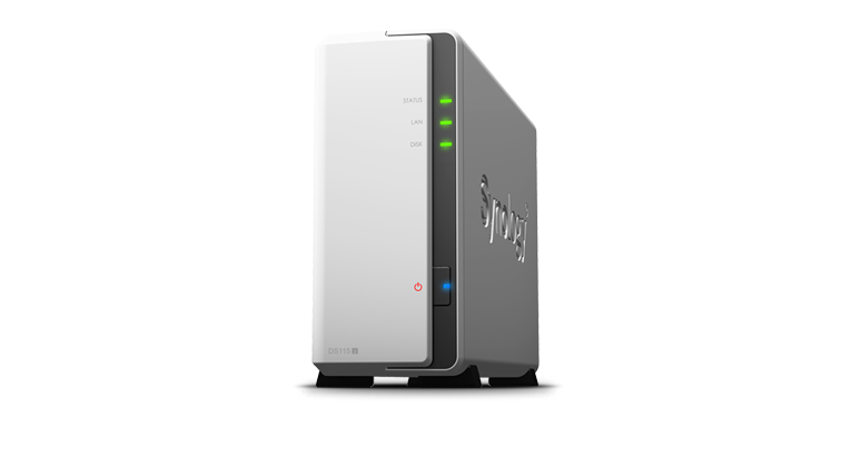 Synology DS115j energy-sipping NAS targets home users