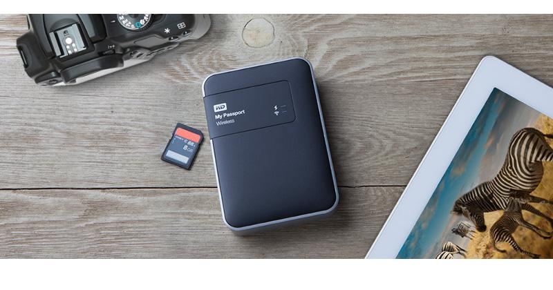 WD My Passport Wireless offers untethered extra storage