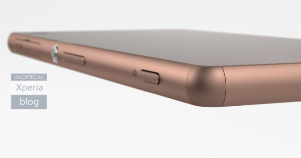 Sony Xperia Z3 in Copper sighted with e-ink SmartBand