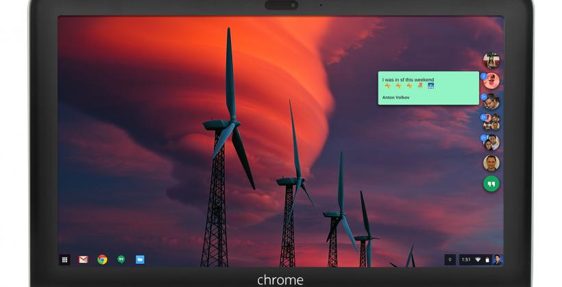 Hangouts has new look, voice calling for desktop