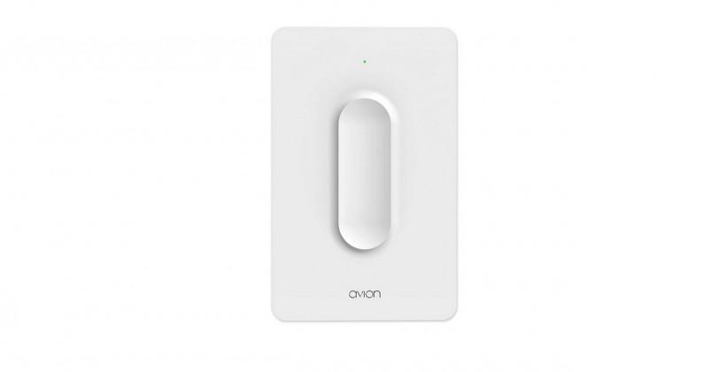Avi-on Bluetooth light switch sticks to any wall