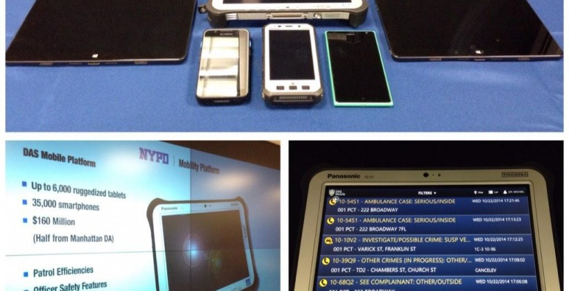 NYPD to equip every officer with Windows smartphone