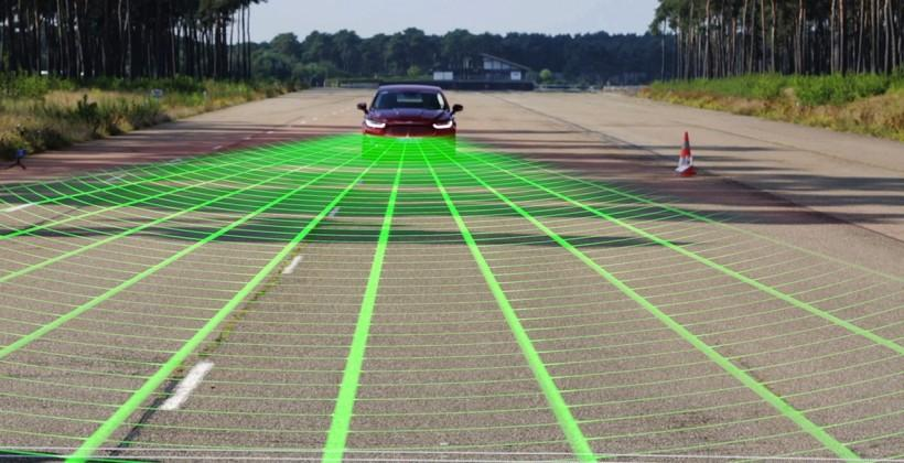 Ford gives pedestrian-spotting bumpers access to the brakes