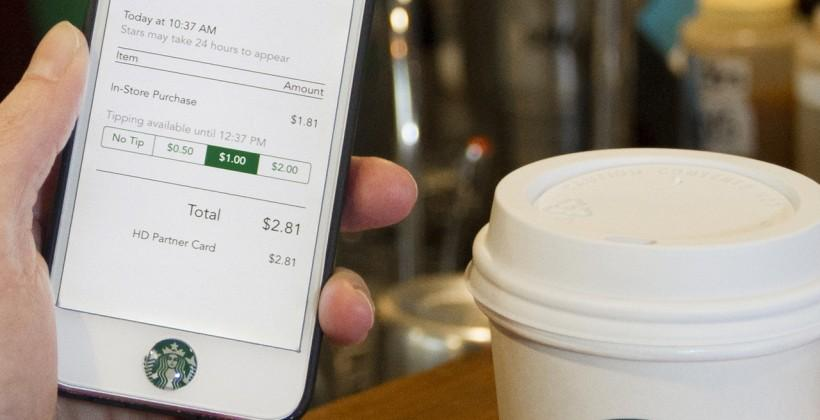 Starbucks delivery in 2015 teases coffee chain