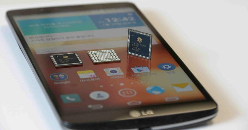 LG reveals NUCLUN chip, G3 Screen spotted in leaked photos