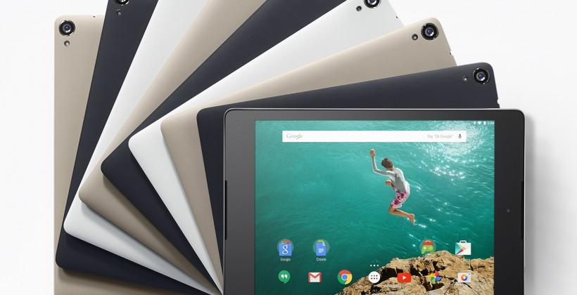 Nexus 9 detailed for Android Lollipop release