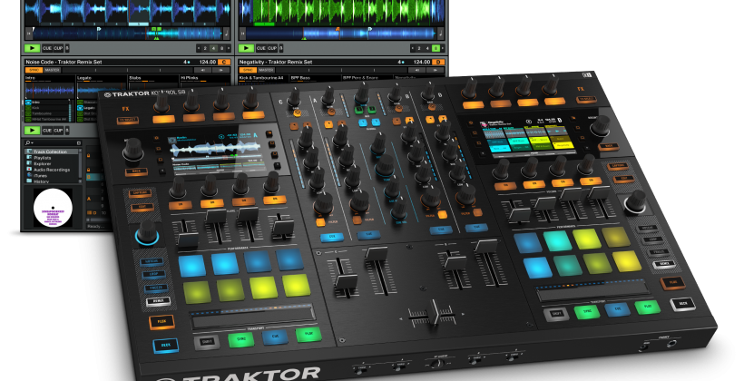 Traktor Kontrol S8 brings the DJ back to the party