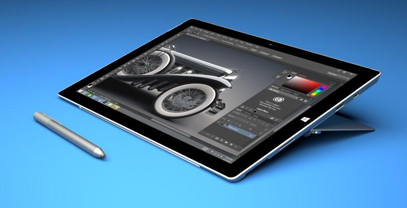 Adobe Creative Cloud optimized for Surface Pro 3