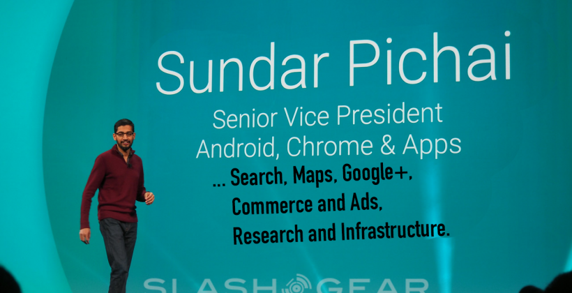 Google shuffle: CEO Larry Page transfers product power to Pichai