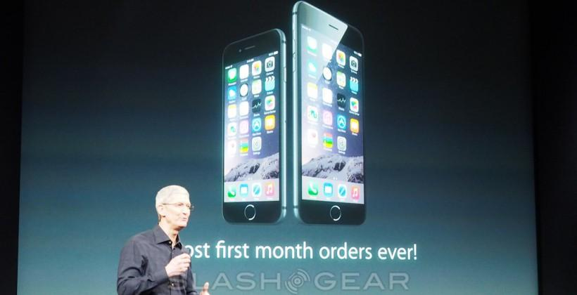 iPhone 6 sets record for first month orders