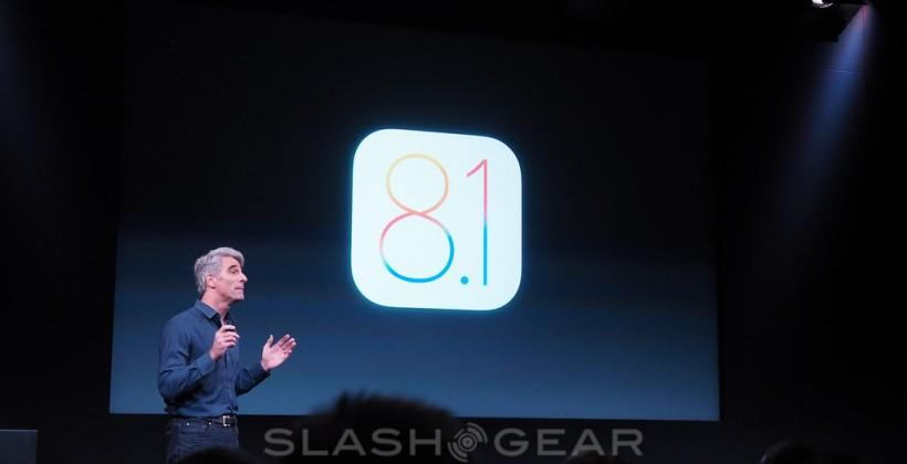 iOS 8.1 release Monday with iCloud Photos, Apple Pay
