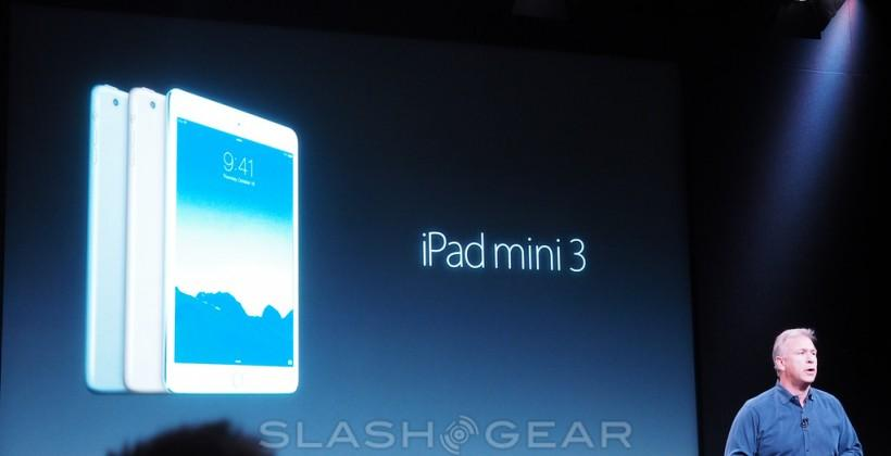iPad mini 3 priced, release set for Monday