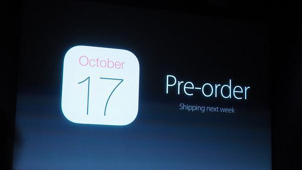 iPad Air 2: pre-order tomorrow, ships Monday