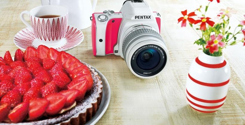PENTAX K-S1 Sweets Collection adds rainbow of colors