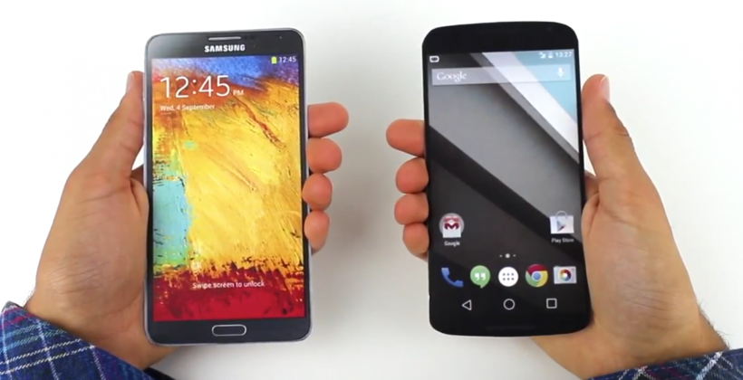 Nexus 6 size comparison: just don't call it a 'phablet'