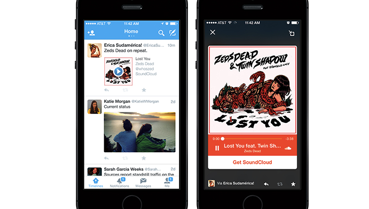 Twitter Audio Cards official; listen while you tweet