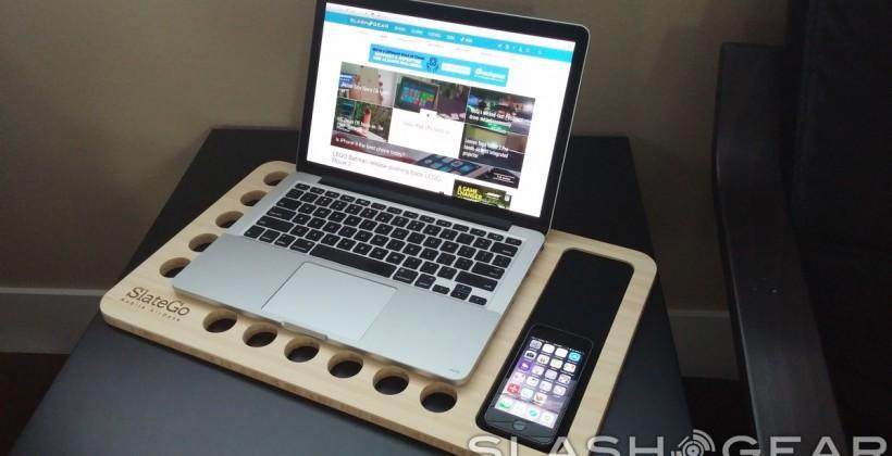 SlateGo Mobile AirDesk review: your laptop's best friend