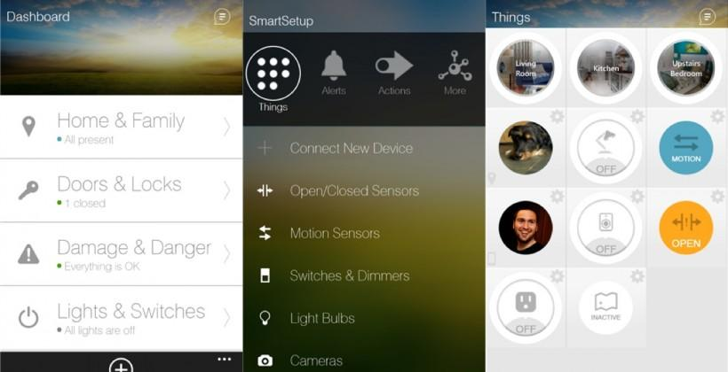 SmartThings app comes to Windows Phone