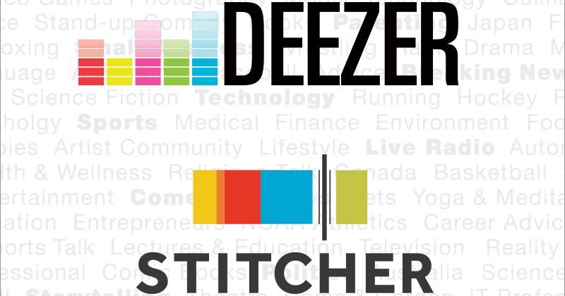 Deezer acquires Stitcher, speeds podcasting initiative