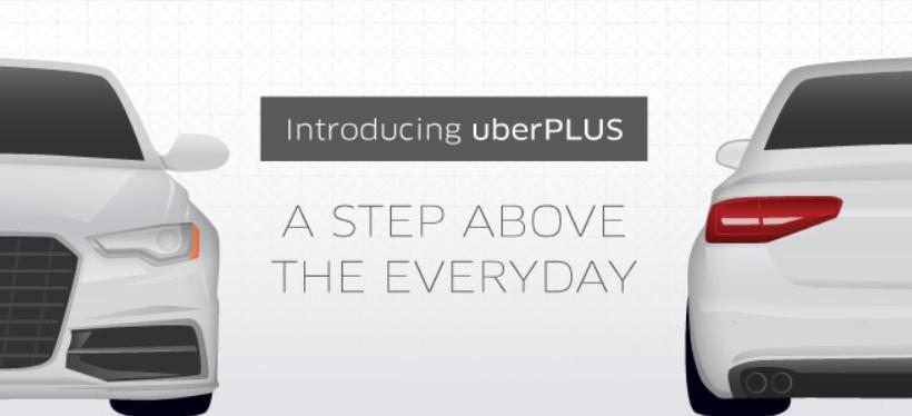 UberPLUS arrives as higher-end ridesharing option