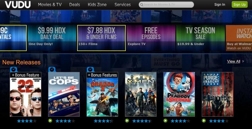 TiVo adds Walmart's VUDU video service