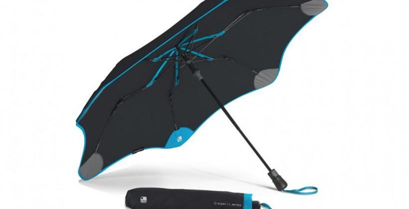 Blunt and Tile team up to make an umbrella you can't lose